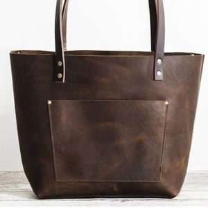 99444a499d26 Portland Leather Bags | Fullgrain Leather Grizzly Tote | Poshmark